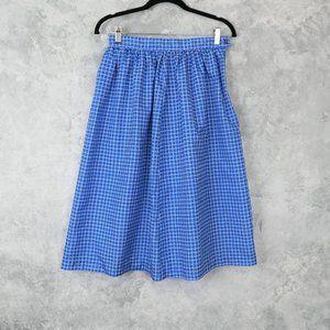 Vintage Clove Bay Blue & White Skirt
